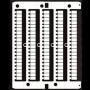 DKC / ДКС ZNU008-RET CNU/8/030, 100/ чистые маркировочные таблички