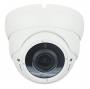 Камера купольная,1/2.9'' SONY CMOS ,2МП  1080P/720P@25fps,WDR, объектив f2.8-12mm, день/ночь, ИК подсветка,PoE,SD,audio,IP66
