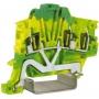 DKC / ДКС ZTO430-RET TEO.4, зажим для заземления желт.зелен 4 кв.мм