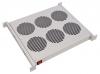 """Модуль вентиляторный 19"""" 1U,6 вентиляторов,с термодатчиком регулируемая глубина"""