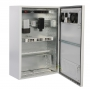 Шкаф уличный всепогодный настенный 15U (600х500), передняя дверь вентилируемая ЦМО