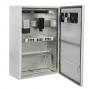 Шкаф уличный всепогодный настенный 9U (600х500), передняя дверь вентилируемая ЦМО