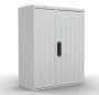 Шкаф ЭКОНОМ уличный всепогодный настенный укомплектованный (В300хШ300хГ210), комплектация T1-IP54 ЦМО