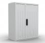 Шкаф ЭКОНОМ уличный всепогодный настенный укомплектованный (В400хШ400хГ210), комплектация T2-IP65 ЦМО